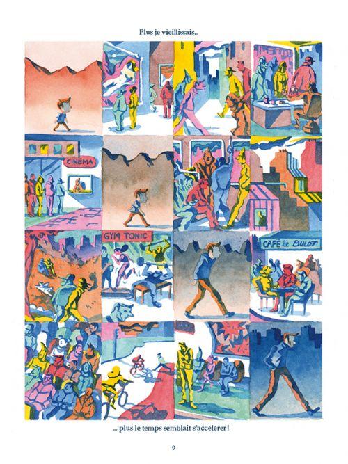 Les étoiles du temps, bd chez Gallimard de Hussenot
