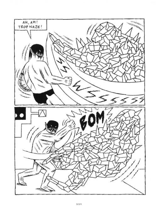 Prison Pit T1, comics chez Huber éditions de Ryan