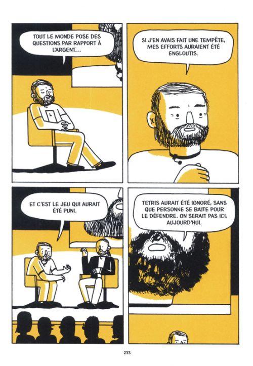 Tetris : Jouer le jeu (0), comics chez La pastèque de Brown