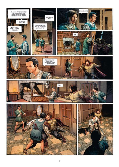 Médicis T4 : Cosme 1er - Des miettes au festin (0), bd chez Soleil de Peru, Mucciacito, Digikore studio