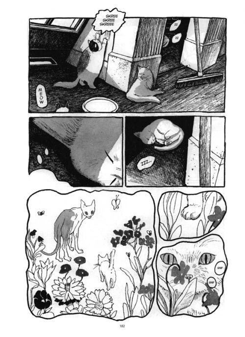 Les Chats du Louvre T1, manga chez Futuropolis de Matsumoto