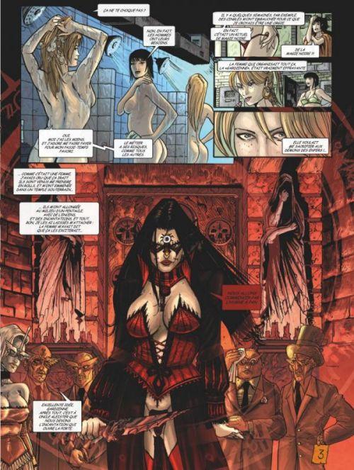 Claudia, Chevalier Vampire T2 : Femmes violentes (0), bd chez Glénat de Mills, Tacito, Ledroit