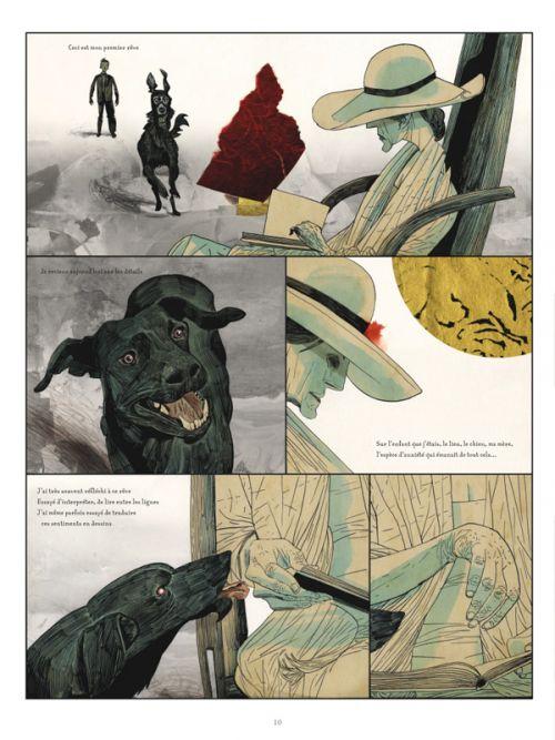 Black Dog, les rêves de Paul Nash, comics chez Glénat de McKean