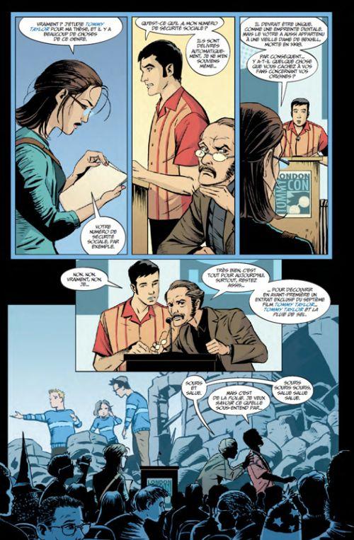 The Unwritten - Entre les lignes T1, comics chez Urban Comics de Carey, Gross, McGee, Chuckry, Shimizu