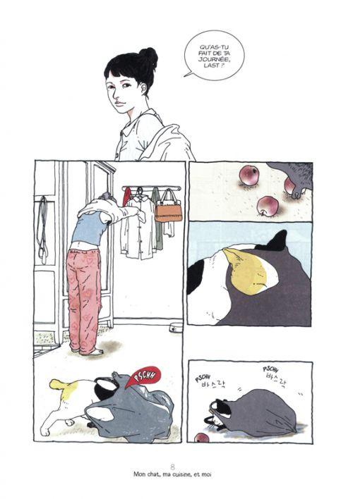 Mon chat, ma cuisine et moi, manga chez Kana de