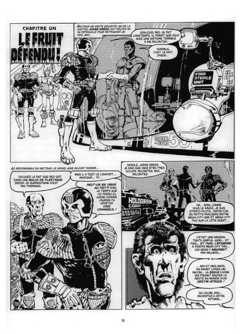 Judge Dredd - Affaires Classées T2, comics chez Délirium de Mills, Wagner, Lowder, McMahon, Bolland