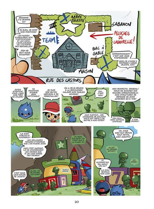 Battle Toyz : L'arbre céleste (0), bd chez Sarbacane de