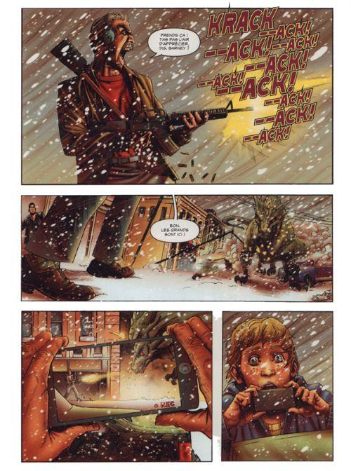Le Réveil du Dragon T2 : Apocalypse (0), comics chez Hachette de Winick, Shaw, Grant