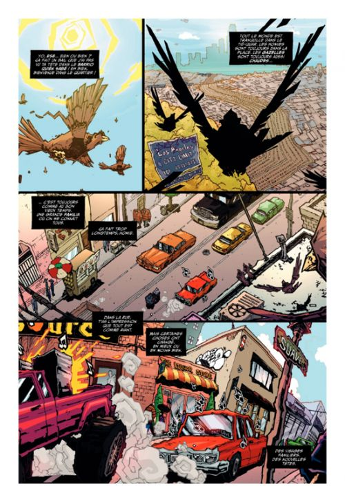 Homies, comics chez Ankama de Gonzalez, Serrano, Huerta, Ribeiro