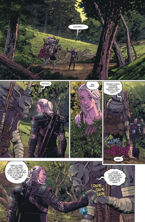 The Witcher T1 : La malédiction des corbeaux (0), comics chez Urban Comics de Tobin, Pugacz-Muraskiewicz, Currit, Stachyra, Kowalski, Simpson