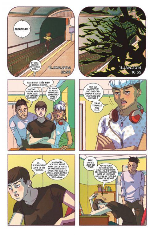 The Wicked + The Divine T3 : Suicide commercial (0), comics chez Glénat de Gillen, Hans, Brown, Graham, Del Duca, McKelvie, Lotay, Wilson