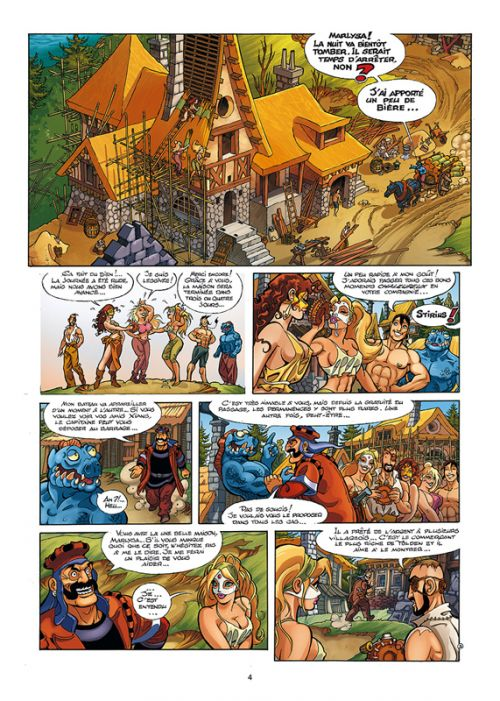 Marlysa T16 : L'Emprise (0), bd chez Soleil de Gaudin, Danard, Odone