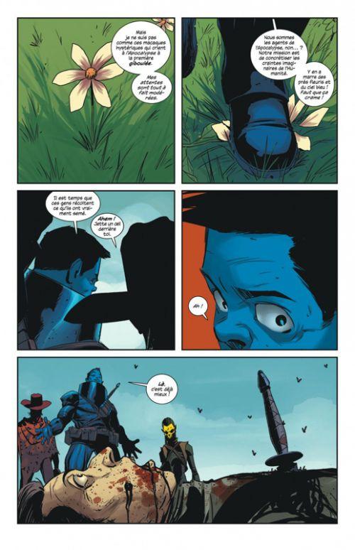 East of West T7 : Leçons pour les soumis (0), comics chez Urban Comics de Hickman, Dragotta, Martin jr