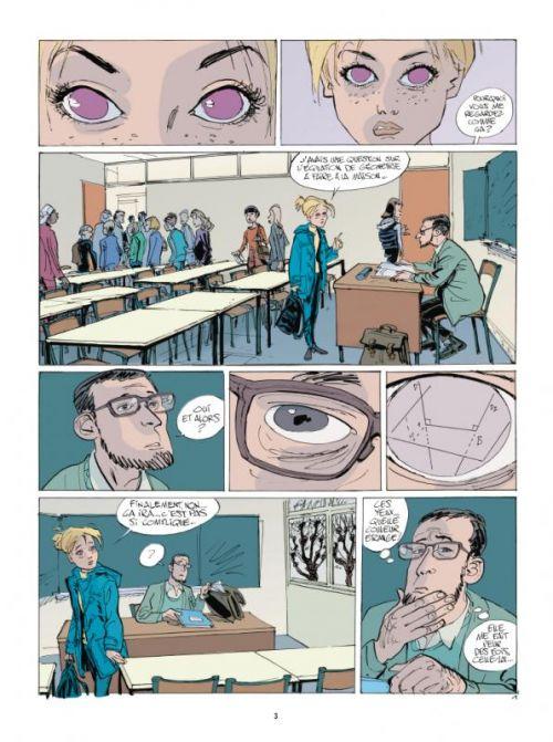 Le 3e oeil T1 : Le Sommeil empoisonné (0), bd chez Casterman de Tronchet, Brumaire