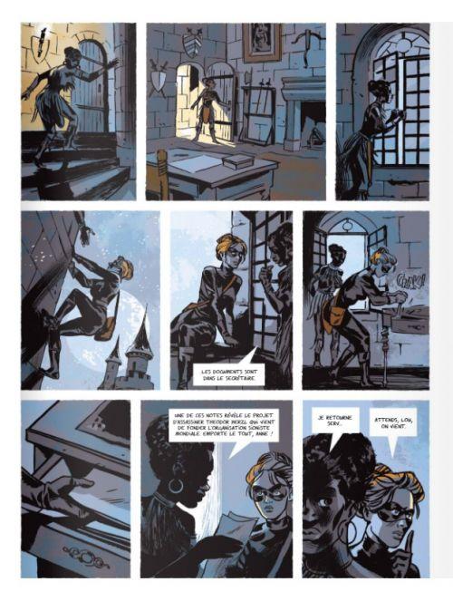 Beauté noire T1 : Les chasseurs de haine (0), bd chez Glénat de Simsolo, Balez