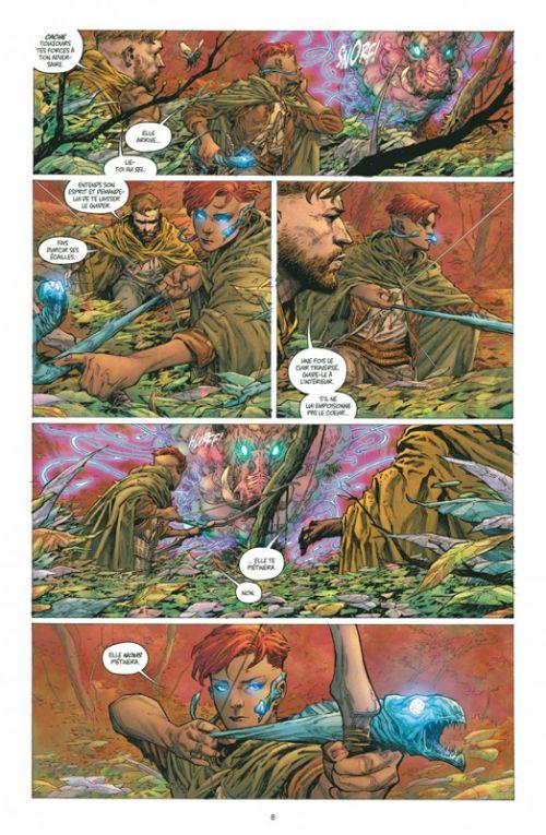 Seven to Eternity T1 : Le maître des murmures (0), comics chez Urban Comics de Remender, Opeña, Hollingsworth
