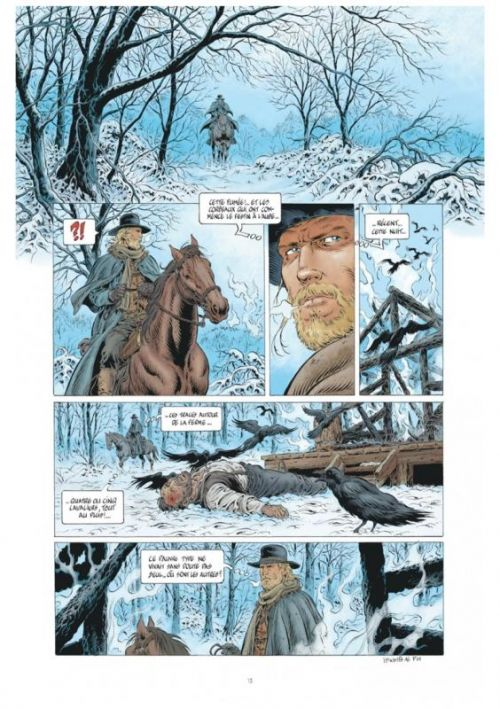 Lonesome  T1 : La piste du prêcheur (0), bd chez Le Lombard de Swolfs, Swolfs