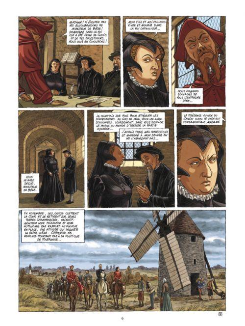 Les Guerriers de Dieu T3 : Les martyrs de Wassy (0), bd chez Glénat de Richelle, Wachs, Osuch