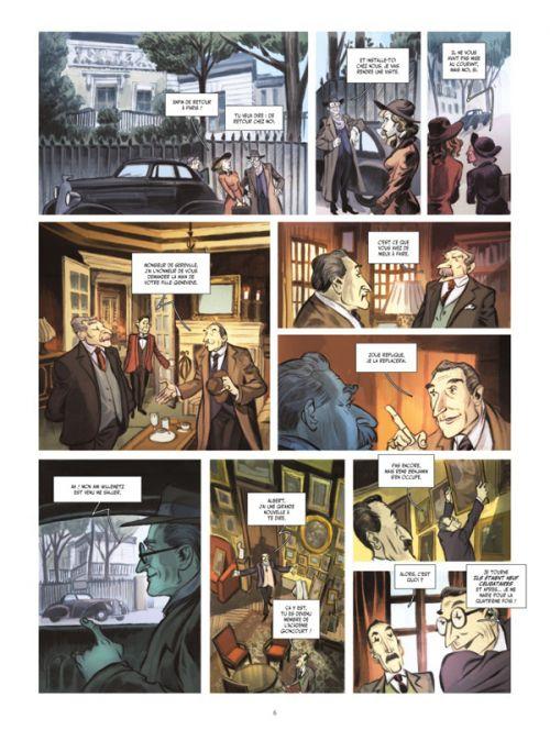 Sacha Guitry T2 : Le mal aimé (0), bd chez Glénat de Simsolo, Martinello