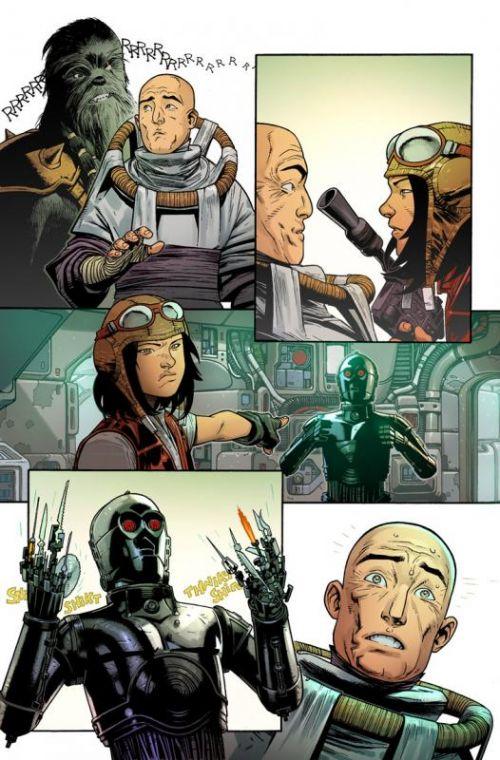 Star Wars - Docteur Aphra T1 : Aphra (0), comics chez Panini Comics de Gillen, Walker, Larroca, Delgado, Fabela, Shirahara