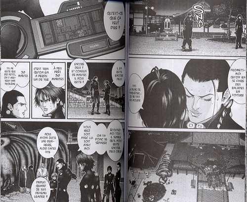 Gantz – 1e edition, T7, manga chez Tonkam de Oku