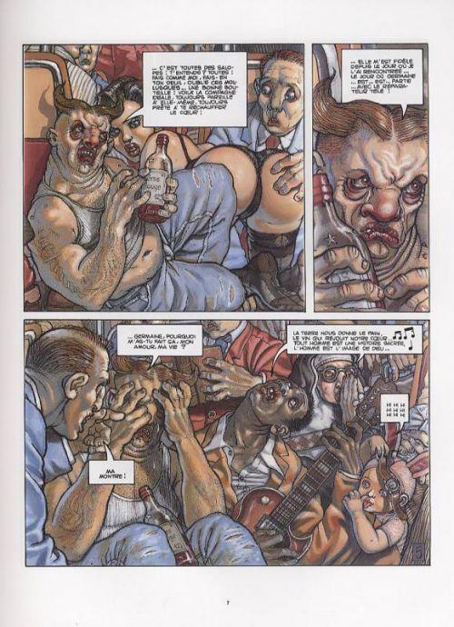 Le ventre du minotaure : Le ventre du minotaure (0), comics chez Les Humanoïdes Associés de Beltran