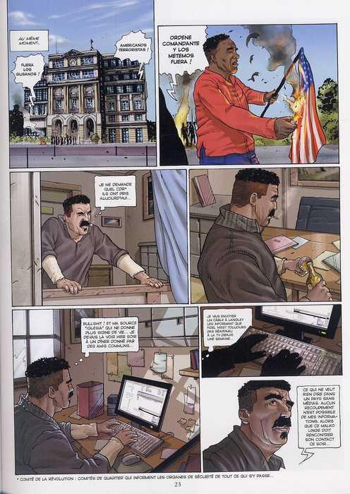 SAS T3 : Mission Cuba (0), bd chez Glénat de Eden, Mutti