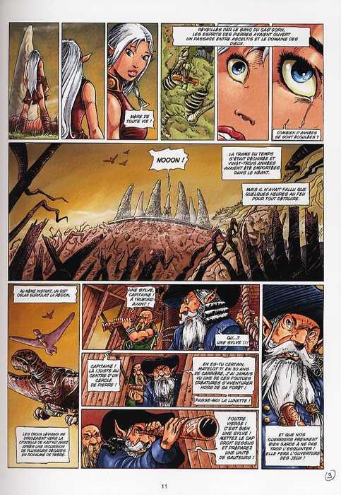 Les brumes d'Asceltis – cycle 1, T1 : La citadelle Oslanne (0), bd chez Soleil de Jarry, Istin, Brants
