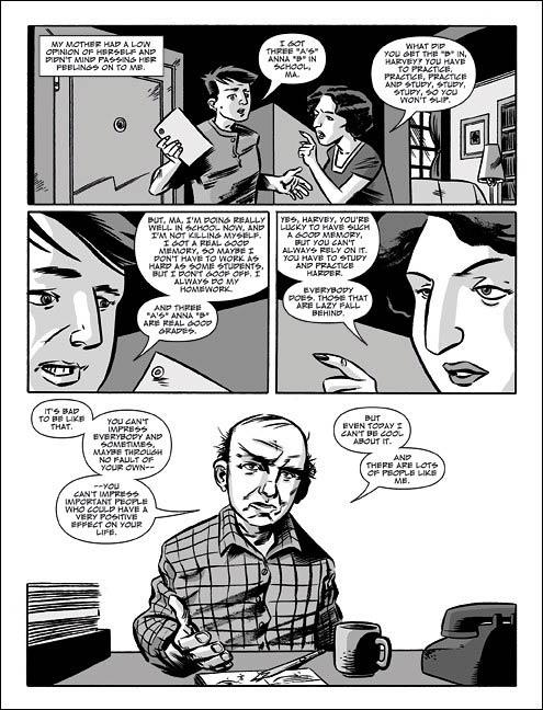 The quitter : Le dégonflé (0), comics chez Panini Comics de Pekar, Haspiel, Loughridge