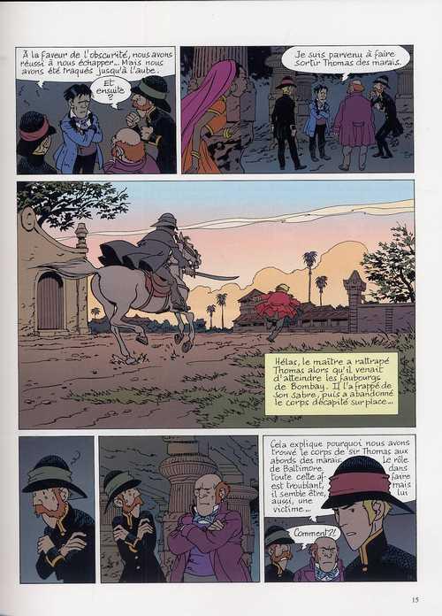 Raj T2 : Un gentilhomme oriental (0), bd chez Dargaud de Wilbur, Conrad, Loïs