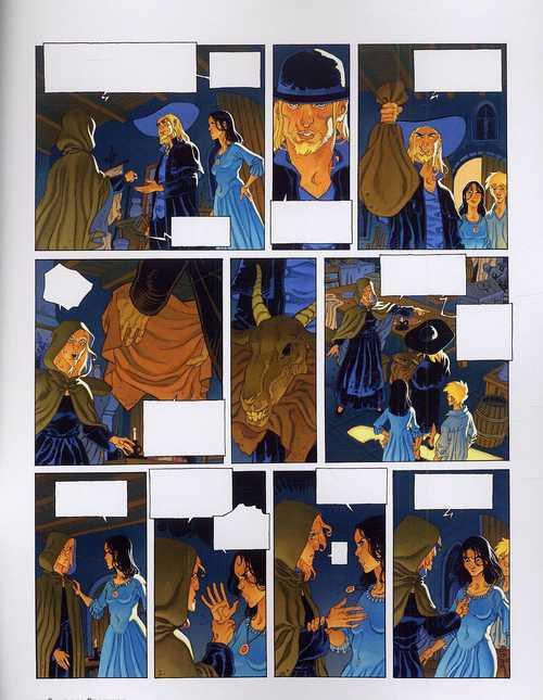 Le sang des Porphyre – cycle 1, T2 : Konan (0), bd chez Dargaud de Yann, Parnotte