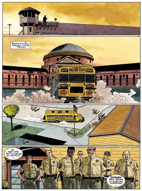 Haute sécurité T1 : Les gardiens du temple (0), bd chez Dupuis de Callede, Gihef, Kathelyn