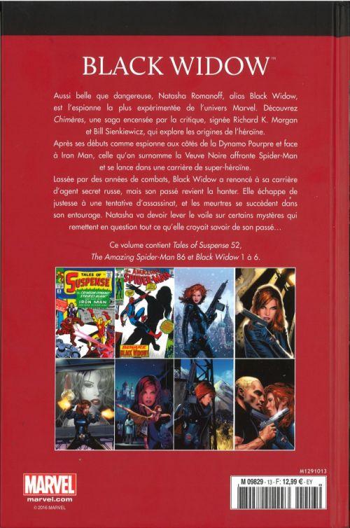 Marvel Comics : le meilleur des super-héros T13 : Black Widow (0), comics chez Hachette de Lee, Morgan, Korok, Parlov, Romita Sr, Heck, Sienkiewicz, Mooney, Brown