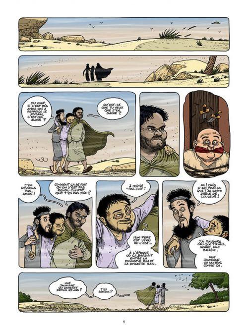 Le voyage des pères T6 : Salomé, Amos et les autres (0), bd chez Paquet de Ratte, Ratte