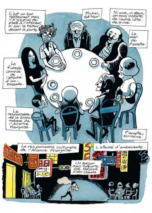 Journal d'Italie T2 : Hong-kong Osaka (0), bd chez Delcourt de David B.