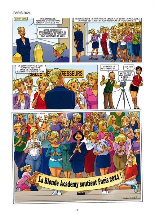 Les blondes T27 : Super hotte ! (0), bd chez Soleil de Gaby, Dzack, Guillo