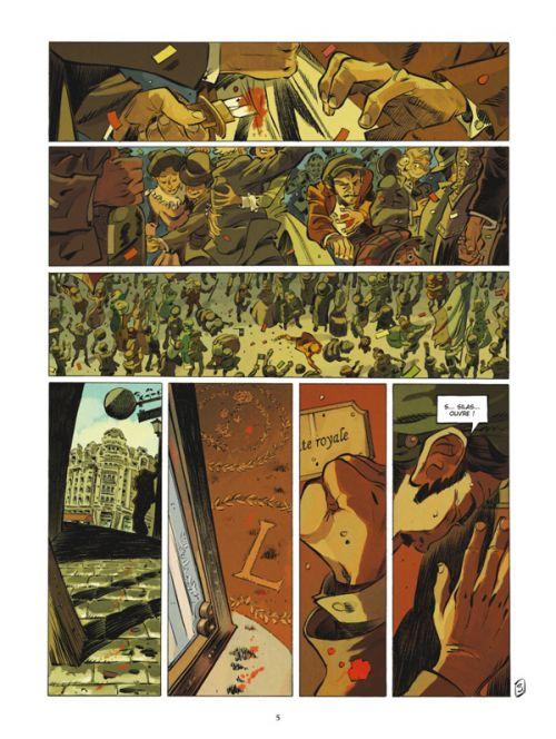 Silas Corey T2 : Le testament Zarkoff (0), bd chez Glénat de Nury, Alary, Garcia