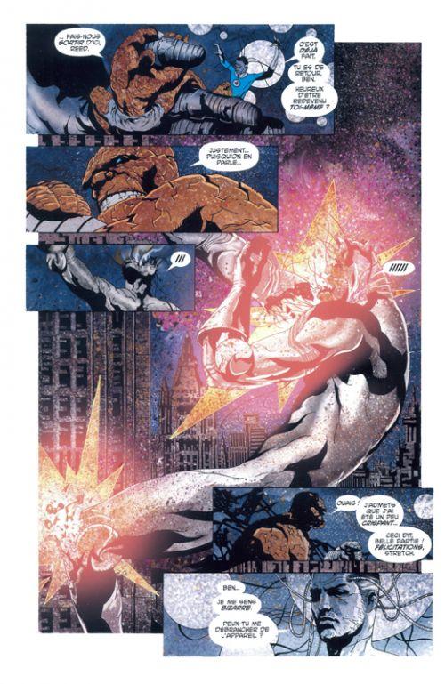 Fantastic Four : Edition 20 ans (0), comics chez Panini Comics de Morrison, Lee, Villarrubia, Bajram