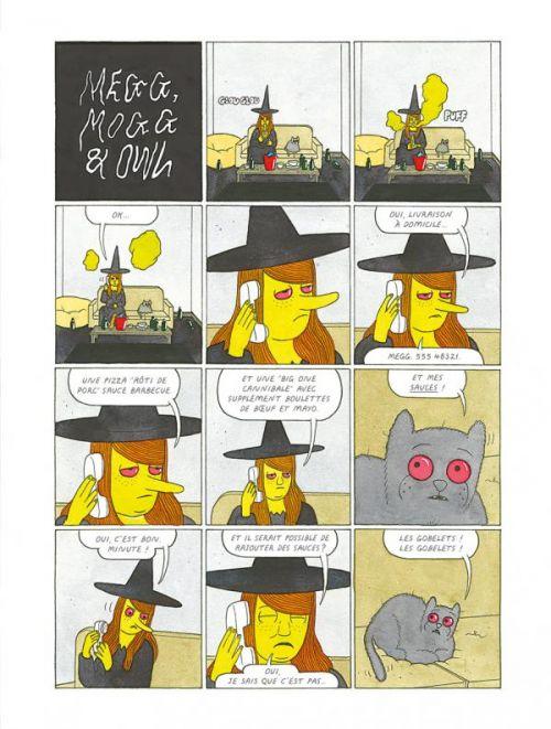 Megg, Mogg & Owl T4 : Happy Fucking Birthday (0), comics chez Misma de Hanselmann
