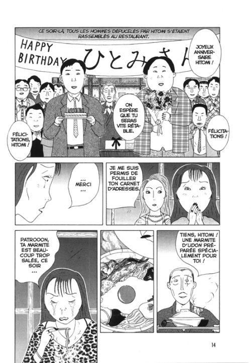 La cantine de minuit T2, manga chez Le Lézard Noir de Abe