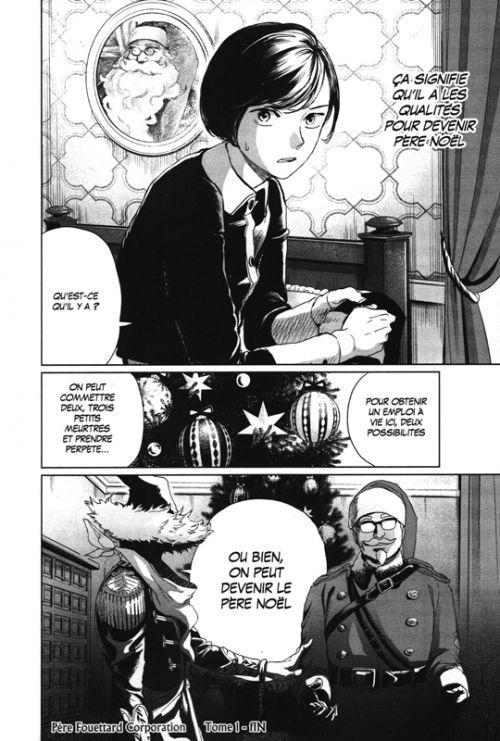 Père Fouettard Corporation T1, manga chez Kurokawa de Nakamura