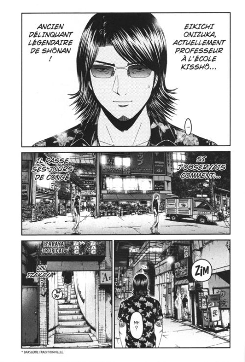GTO - Paradise Lost T8, manga chez Pika de Fujisawa