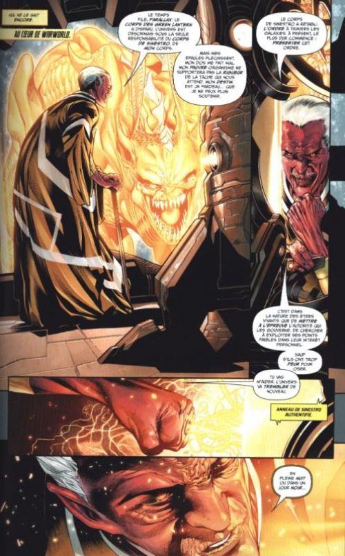 Green Lantern Rebirth T1 : La Loi de Sinestro (0), comics chez Urban Comics de Venditti, Van sciver, Sandoval, Morey, Wright