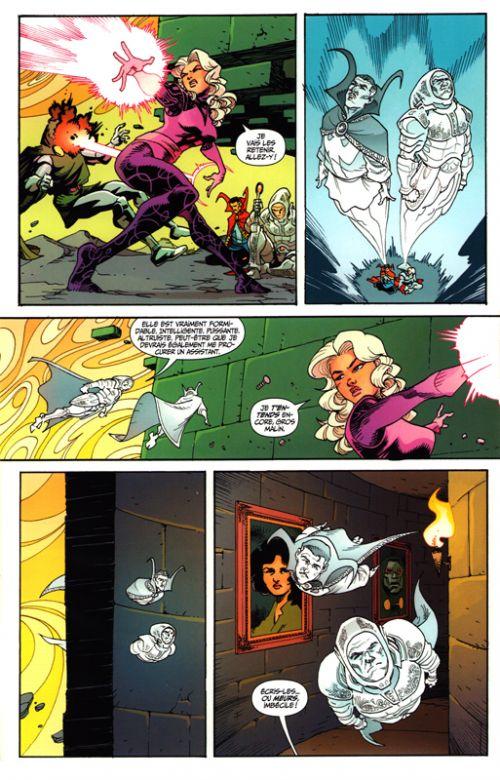Doctor Strange et les Sorciers Suprêmes T1 : Les intemporels (0), comics chez Panini Comics de Thompson, Rodriguez, Stockman, Marks, Loughridge, Bonvillain, Bellaire