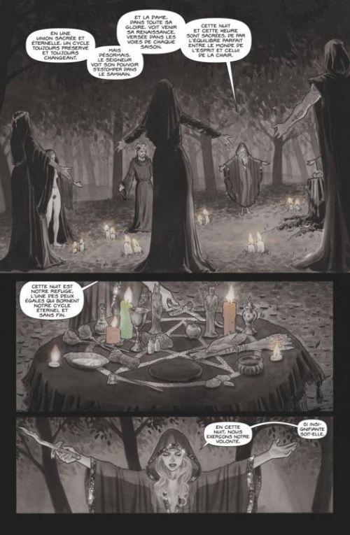 Black Magick T1 : Réveil (0), comics chez Glénat de Rucka, Scott, Arena