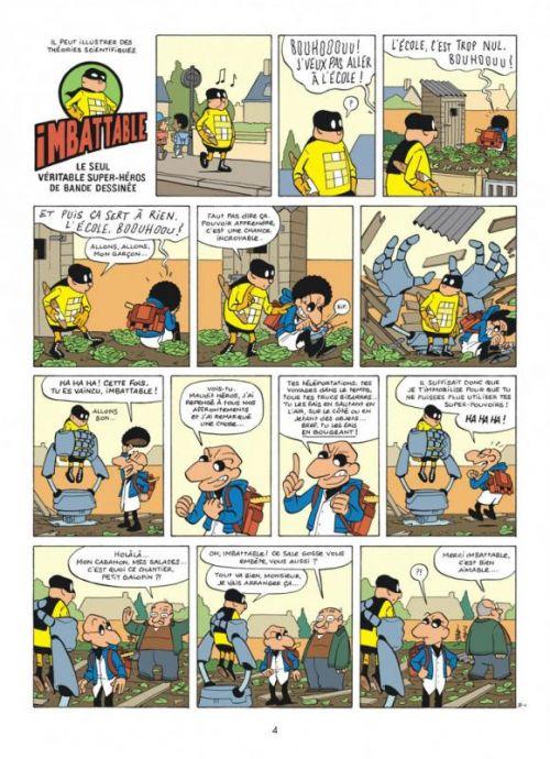 Imbattable T2 : Super-héros de proximité (0), bd chez Dupuis de Jousselin, Croix