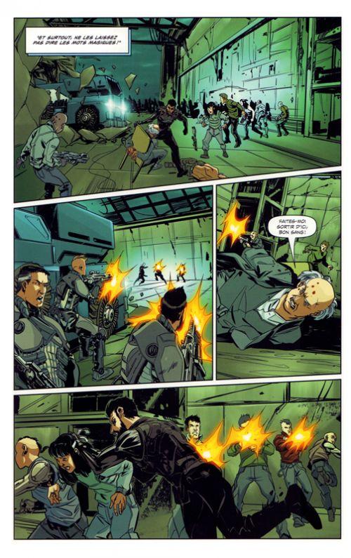 Deus EX Universe : Dissidence (0), comics chez Mana Books de Irvine, Aggs, Lopes, Lesko, Schepacz