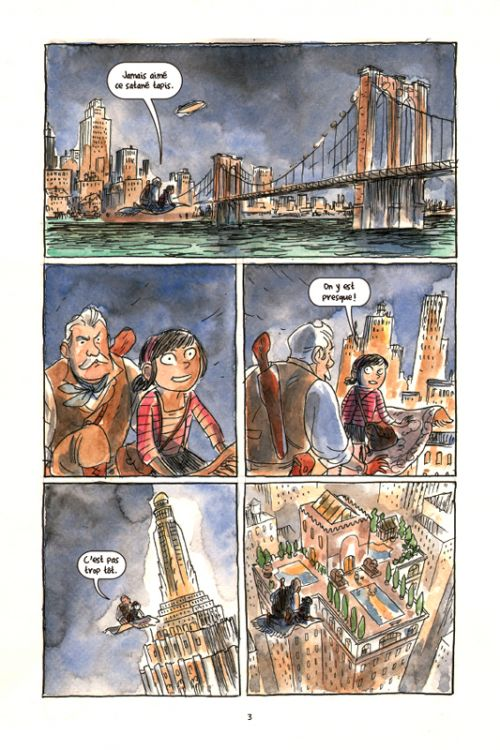 Poppy ! et le lagon perdu, comics chez Gallimard de Kindt, Hurtt