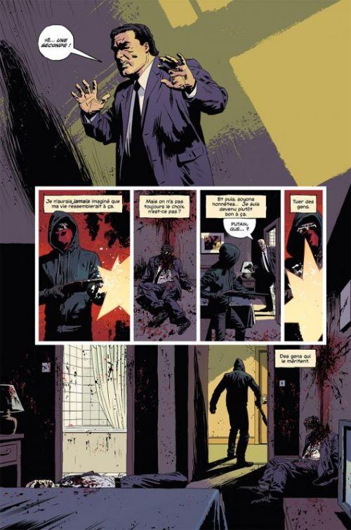 Kill or Be Killed T1, comics chez Delcourt de Brubaker, Phillips, Breitweiser