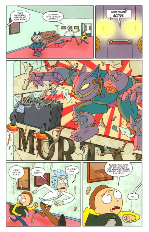 Rick and Morty T1, comics chez Hi Comics de Gorman, Cannon, Hill